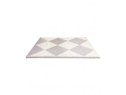 SKIPHOP SKIP HOP Puzzle penové šedo-béžové 72 ks, 10 m+