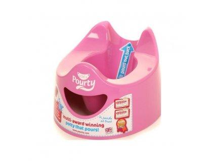 POURTY POURTY Nočník jednoducho vylievateľný Pink