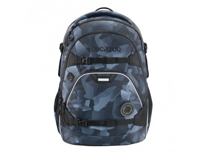 Školský ruksak coocazoo ScaleRale, Grey Rocks, certifikát AGR