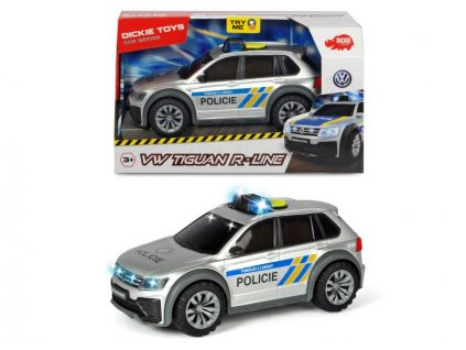 Dickie Toys policajné auto VW Tiguan