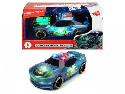 Dickie Toys policajné auto Lightstreak