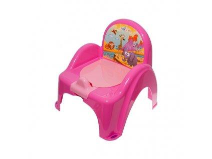 Teba Baby nočník Safari pink