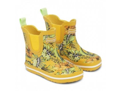 short classic rubber boot tropical
