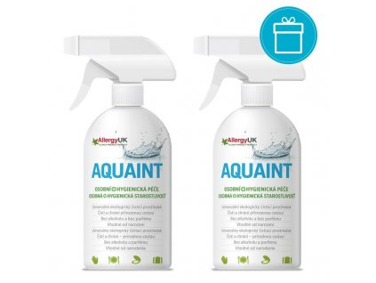 AQUAINT 2 x AQUAINT 100% ekologická čistiaca voda 500 ml