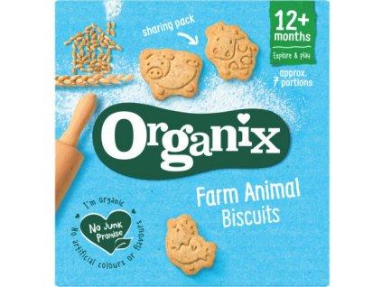 Organix farm animal biscuits