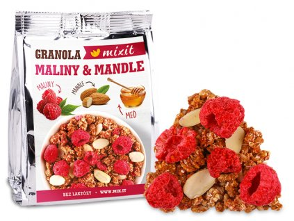 Mixit granola do vaku maliny a mandle
