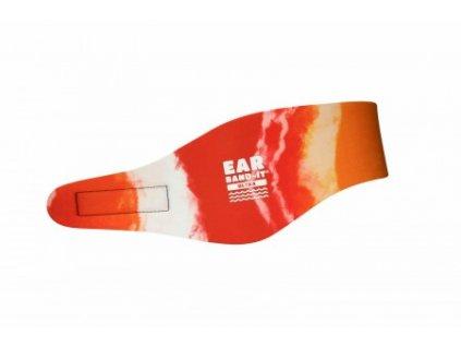 ear band batikovana oranzova