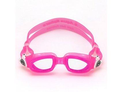 Moby Kid 3+ plavecké okuliare ružovo biele