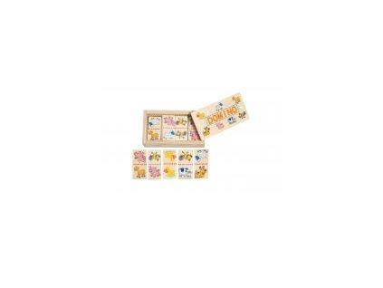Woody mini domino zvieratá