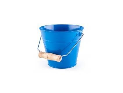 Woody záhradný káblík kov modrý