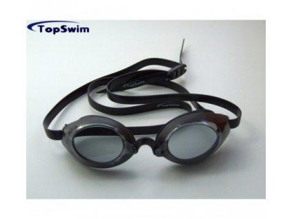 Race plavecké okuliare čierne