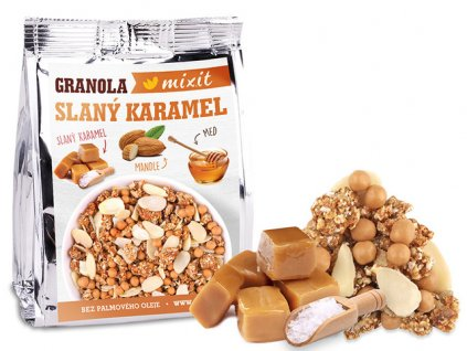 granola slany karamel