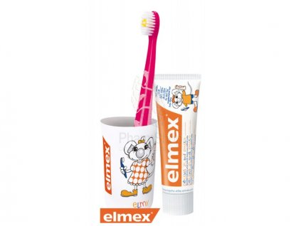 elmex balicek pre deti 3 6 rokov s poharikom