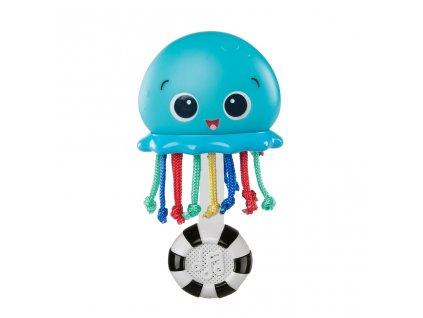 BABY EINSTEIN BABY EINSTEIN Hračka hudobná a svetelná Ocean Glow Sensory Shaker™ 0m+