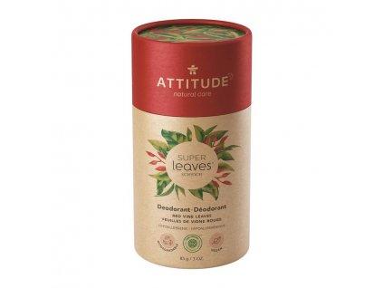 ATTITUDE ATTITUDE Prírodný tuhý deodorant Super leaves - červené listy viniča 85 g