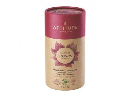ATTITUDE ATTITUDE Prírodný tuhý deodorant Super leaves - listy bieleho čaju 85 g