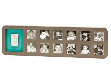BABYART BABY ART Rámček 1st Year Print Frame White/Grey