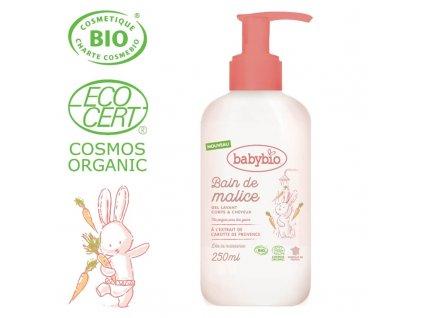 BABYBIO BABYBIO Sprchový BIO gél pre bábätká od narodenia 250 ml