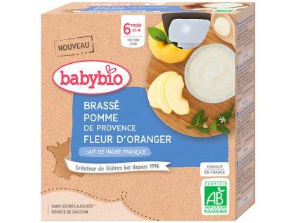BABYBIO BABYBIO Brass jablko pomarančový kvet 4x85 g