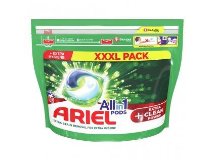 ARIEL ARIEL Allin1 Extra clean gélové kapsuly na pranie 60 pd