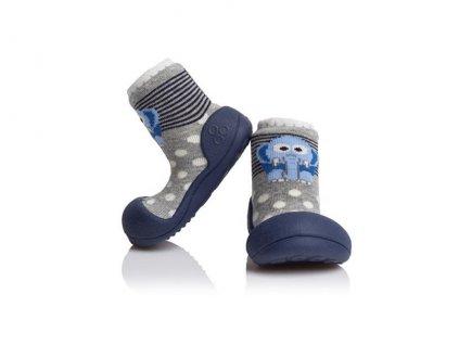ATTIPAS ATTIPAS Unisex topánočky ZOO, veľ. S - modrá