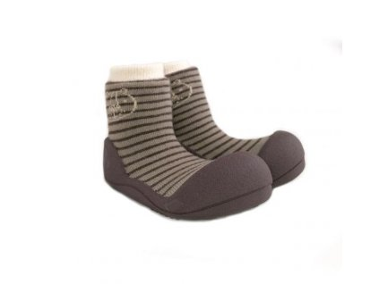 ATTIPAS ATTIPAS Detské topánočky Forest Brown M