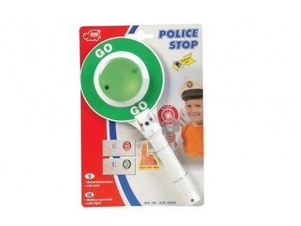 Dickie Policajný terč svietiaci