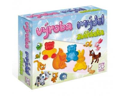 DetiArt Výroba mydla - zvieratká