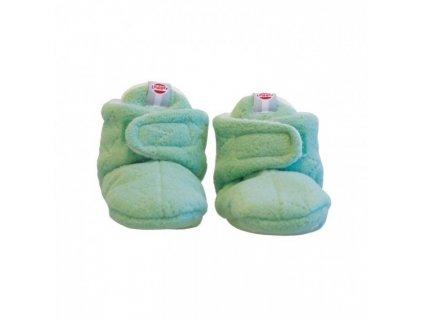 Lodger Capačky Baby Slipper Fleece Anise 6-12