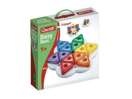 Quercetti Daisy Basic Triangoli -mozaika pre najmenších
