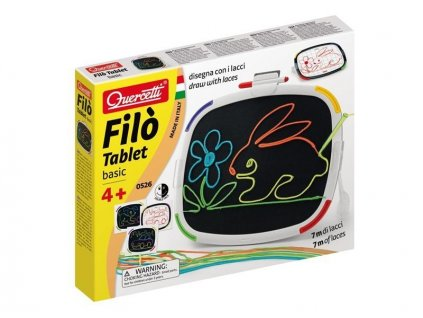 Quercetti Filó Tablet Basic -vyšívacia hra