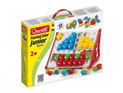 Quercetti Fantacolor Junior (súprava s kufríkom) - mozaika