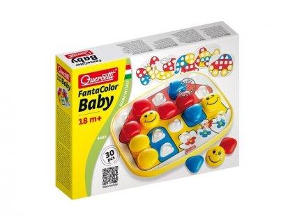Quercetti Fantacolor Baby Basic - vzdelávacia hra