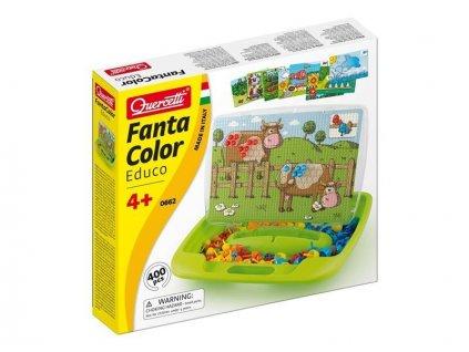 Quercetti FantaColor Educo hra - vzdelávacia mozaika