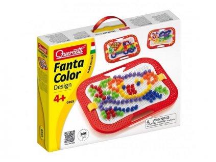 Quercetti FantaColor Design - 15 mm – 160 ks mozaika