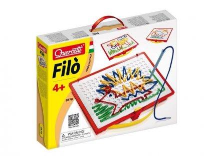 Quercetti Filó -vyšívacia hra