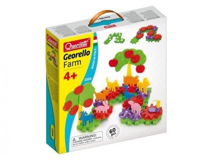 Quercetti Georello Farm - stavebnica mechanických prevodov