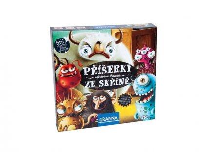 GRANNA - Príšerky zo skrine- spoločenská hra