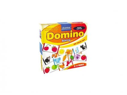 GRANNA - Domino farby - spoločenská hra