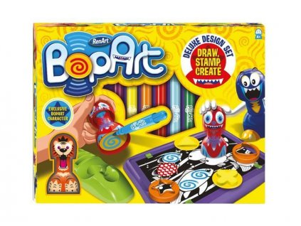 BOPART Deluxe Design Set - pečiatky a šablóny