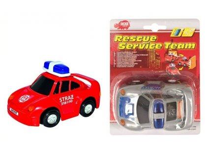 Dickie Policajné auto na batérie