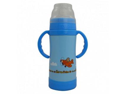 Eco Vessel Detská termo fľaša 300 ml - modrá