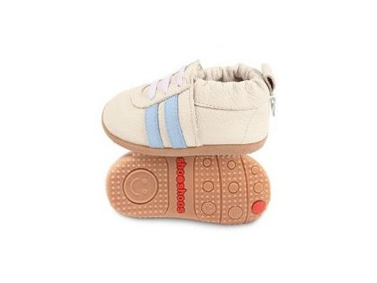 Shooshoos Cream Sport / Sky Stripes