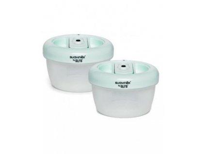 SUAVINEX Vákuové nádoby 300 ml, 2 ks v balení