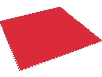 MALÝ GÉNIUS Penový koberec XL - hrubý / jednotlivý diel - červený