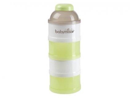 BABYMOOV Dávkovač sušeného mlieka GREEN / BROWN