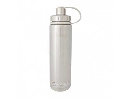 Eco Vessel Termofľaša so závitom 700 ml- strieborná