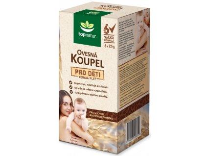 ASP CZECH Ovsený kúpeľ pre deti (6 x 25 g sáčok) / 150 g