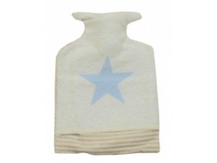 DaviDFussenegger Zahrievacia fľaša hviezda svetlo modrá