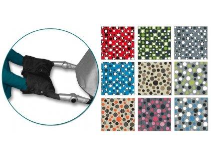 IVEMA BABY - Rukávnik na oddelené rukoväte color (2 kusy)